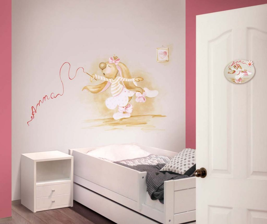 Murales Divinos De Habitaci N Para Beb Murales Divinos ~ Decoracion De Habitaciones Para Bebes