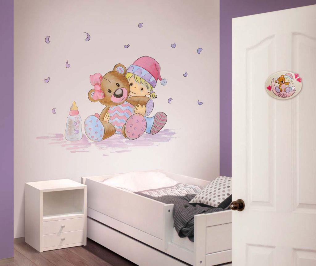 Murales divinos de habitaci n para beb murales divinos - Murales de pared pintados ...