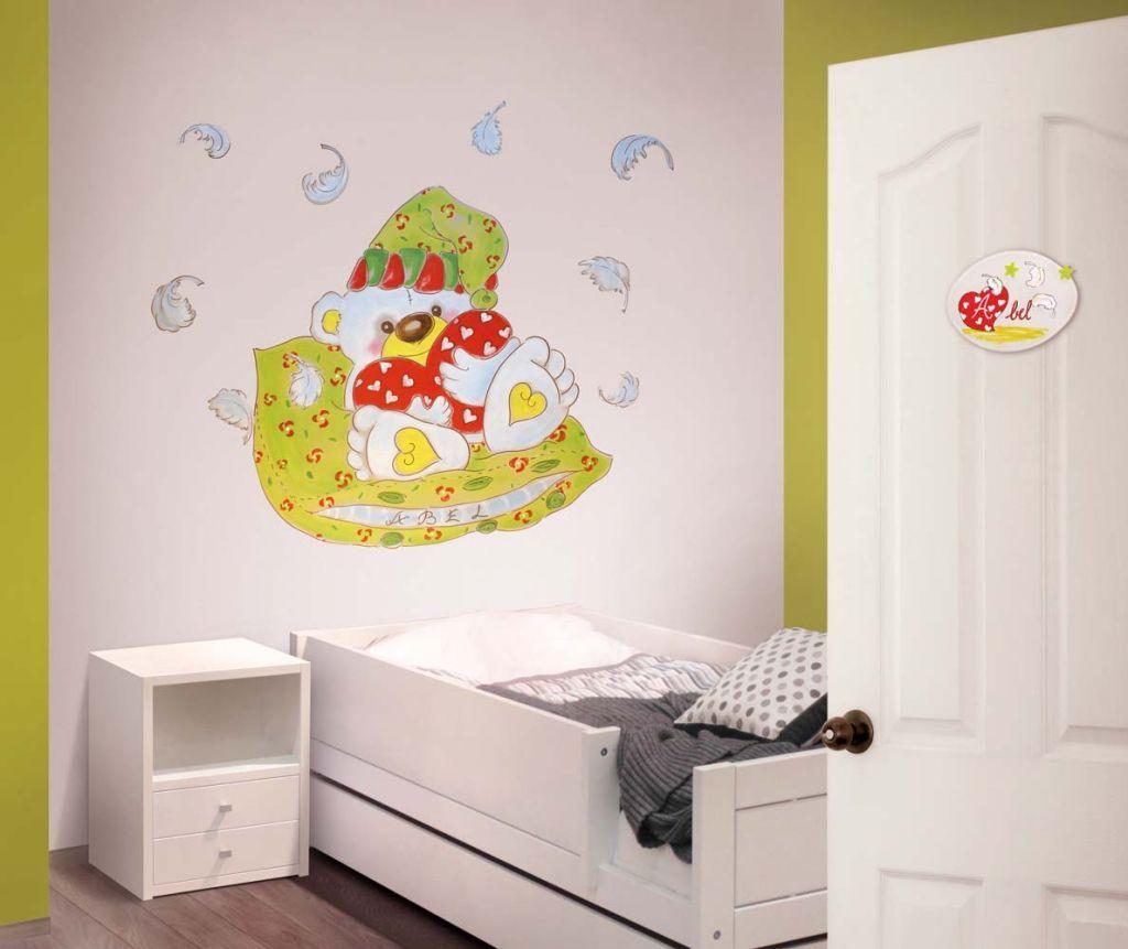 Murales divinos de habitaci n para beb murales divinos - Habitaciones bebe barcelona ...