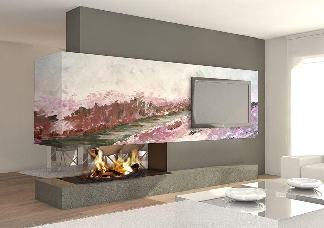 Decoracion chimeneas chimeneas modernas para tu casa for - Fotos de chimeneas decorativas ...