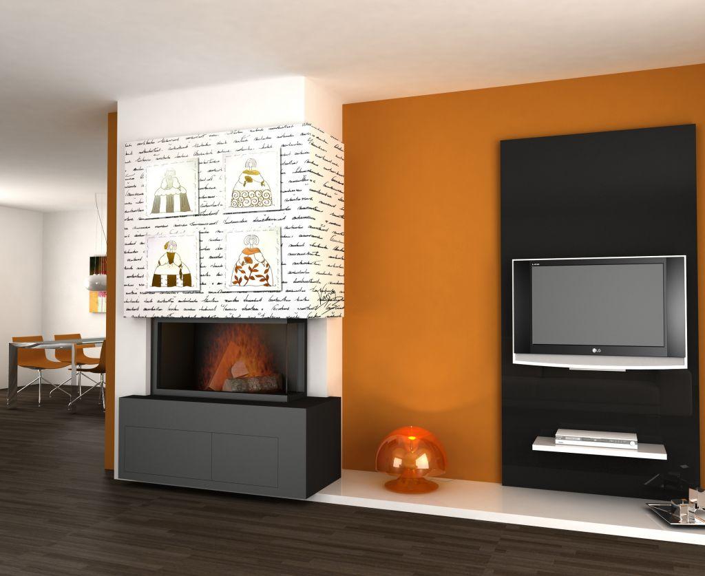 modelos de chimeneas modernas