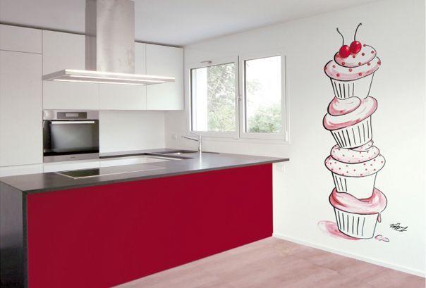 Proyectos RealizadosMurales Pintados Para Cocinas