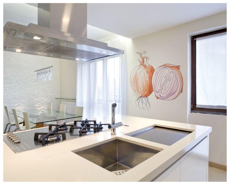 Murales pintados para cocinas murales divinos for Ejemplo de color de pintura de cocina
