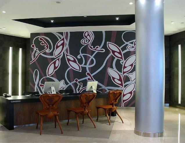 Murales para oficinas murales divinos for Murales decorativos para interiores