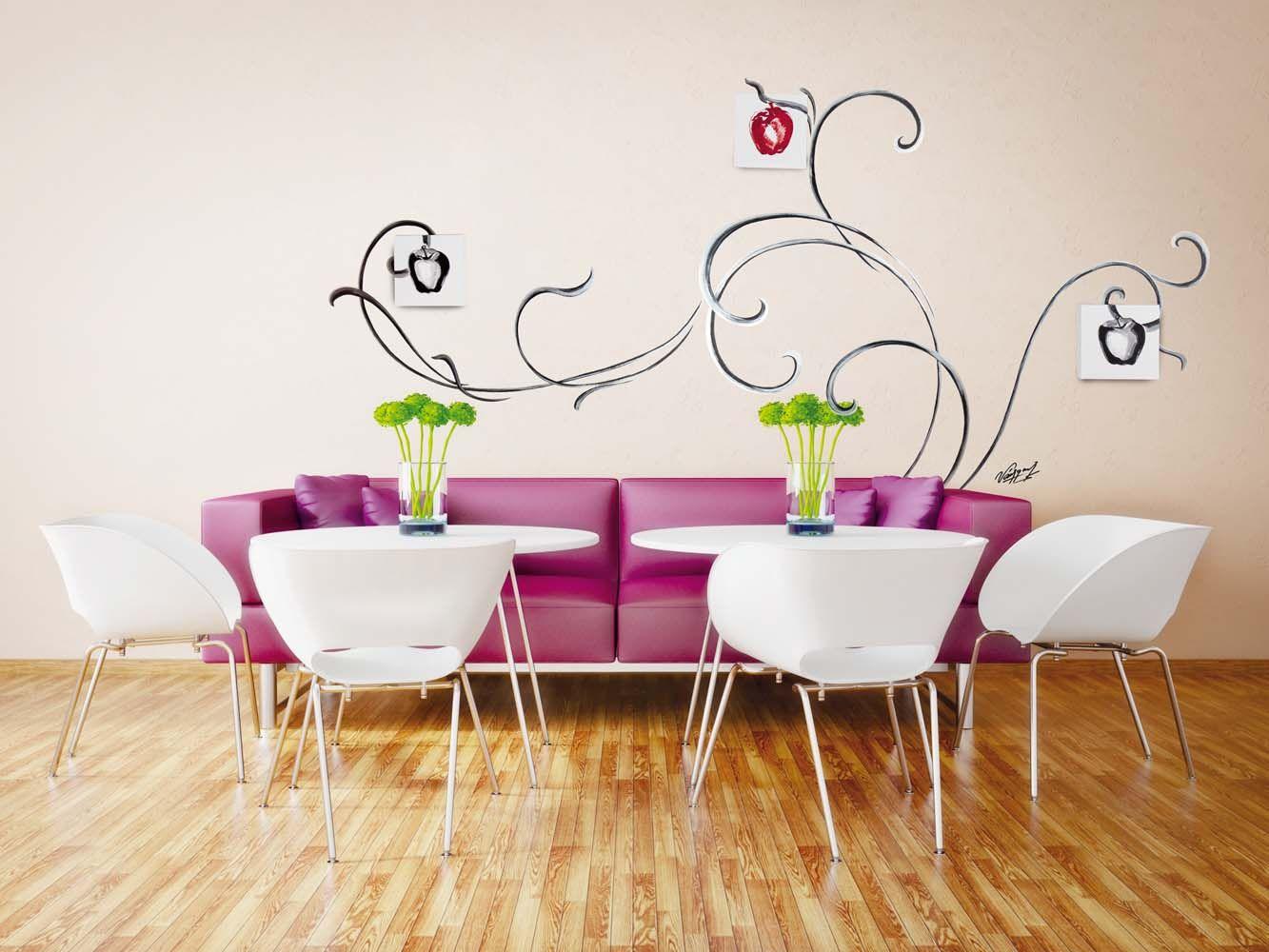 Pintura decorativa para paredes murales divinos for Murales de papel para pared